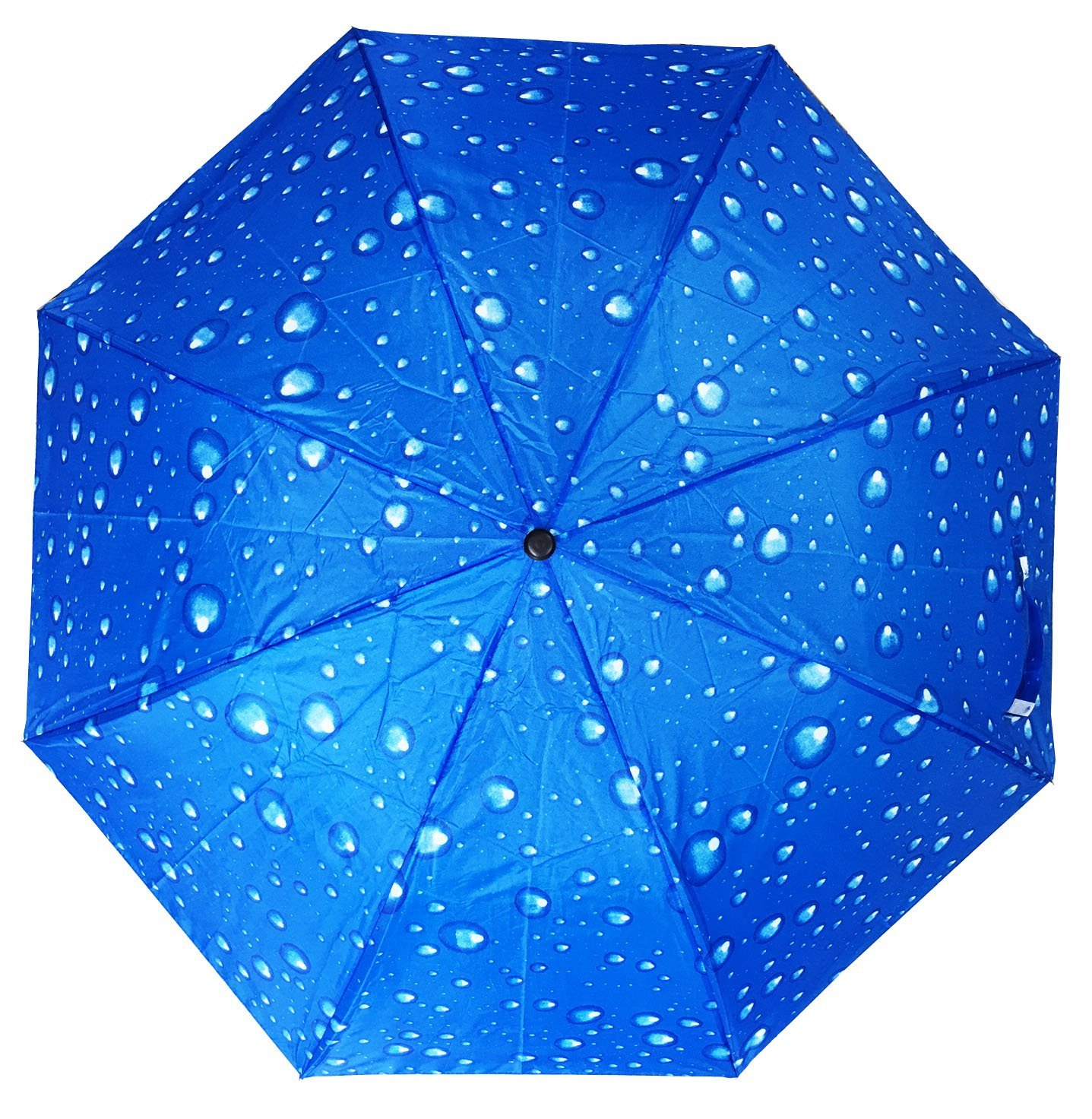 Automatic Folding compact umbrella (blue) by Conch umbrellas (Image #2)