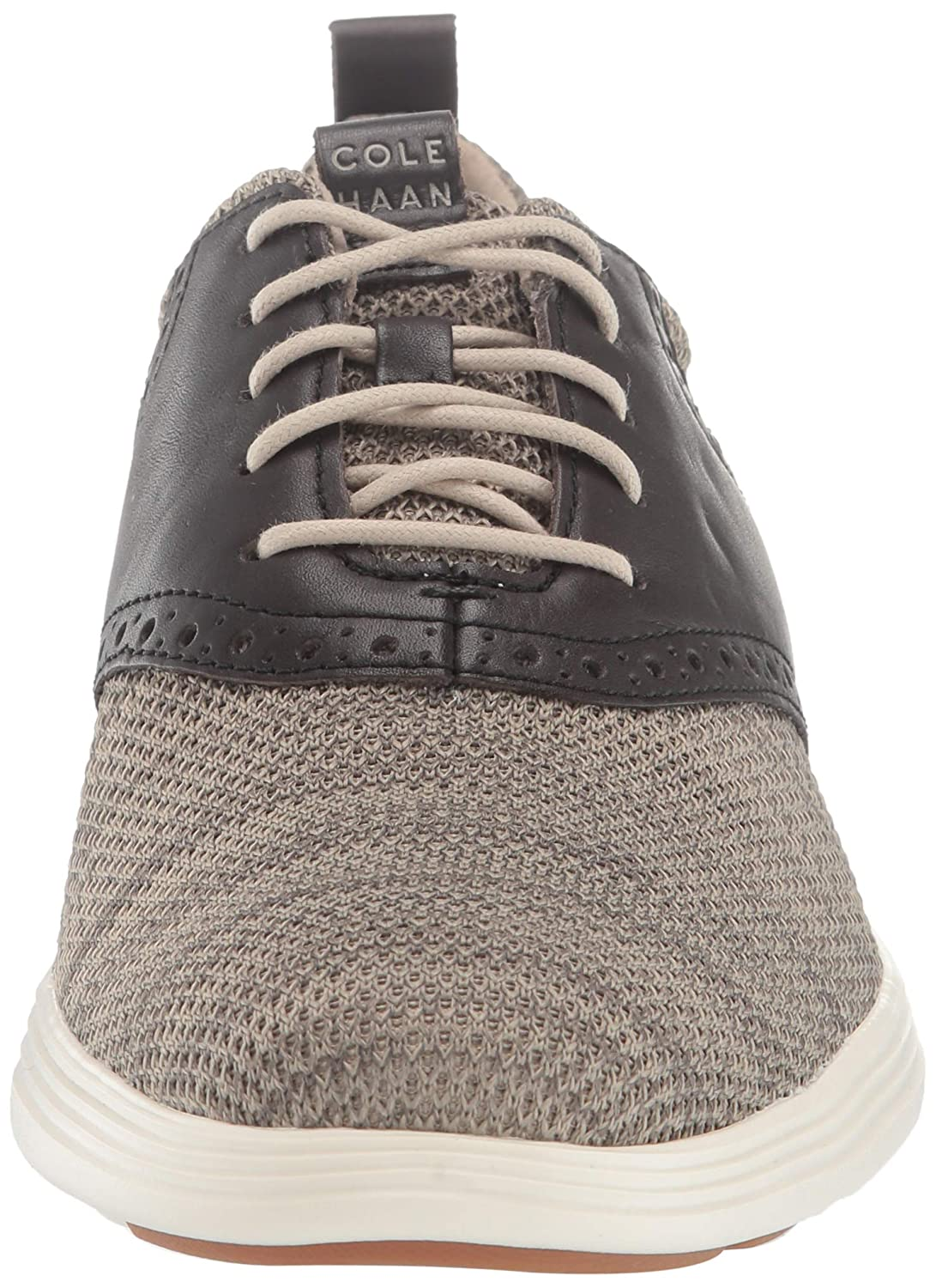 Cole Haan Mens Grand Tour Knit Oxford Black Flat