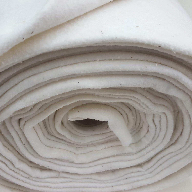 Se vende a metros Guata de algodón de 280 cm de ancho para manualidades