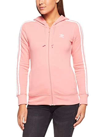 adidas 3STR Zip Hoodie - Chaqueta, Mujer, Rosa(ROSTAC ...