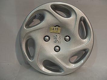 """Peugeot 106 206 Bipper plata insignia 14 """"de rueda Hub Cap esta venta es"""