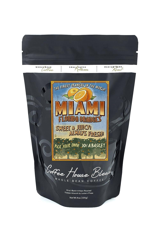 世界的に有名な マイアミ、フロリダ州 – 8oz オレンジGrove Vintage Coffee Sign 36 x – 54 Giclee Print LANT-44310-36x54 B074S396WP 8oz Coffee Bag 8oz Coffee Bag, 利根村:2e52e423 --- mail.urviinteriors.com