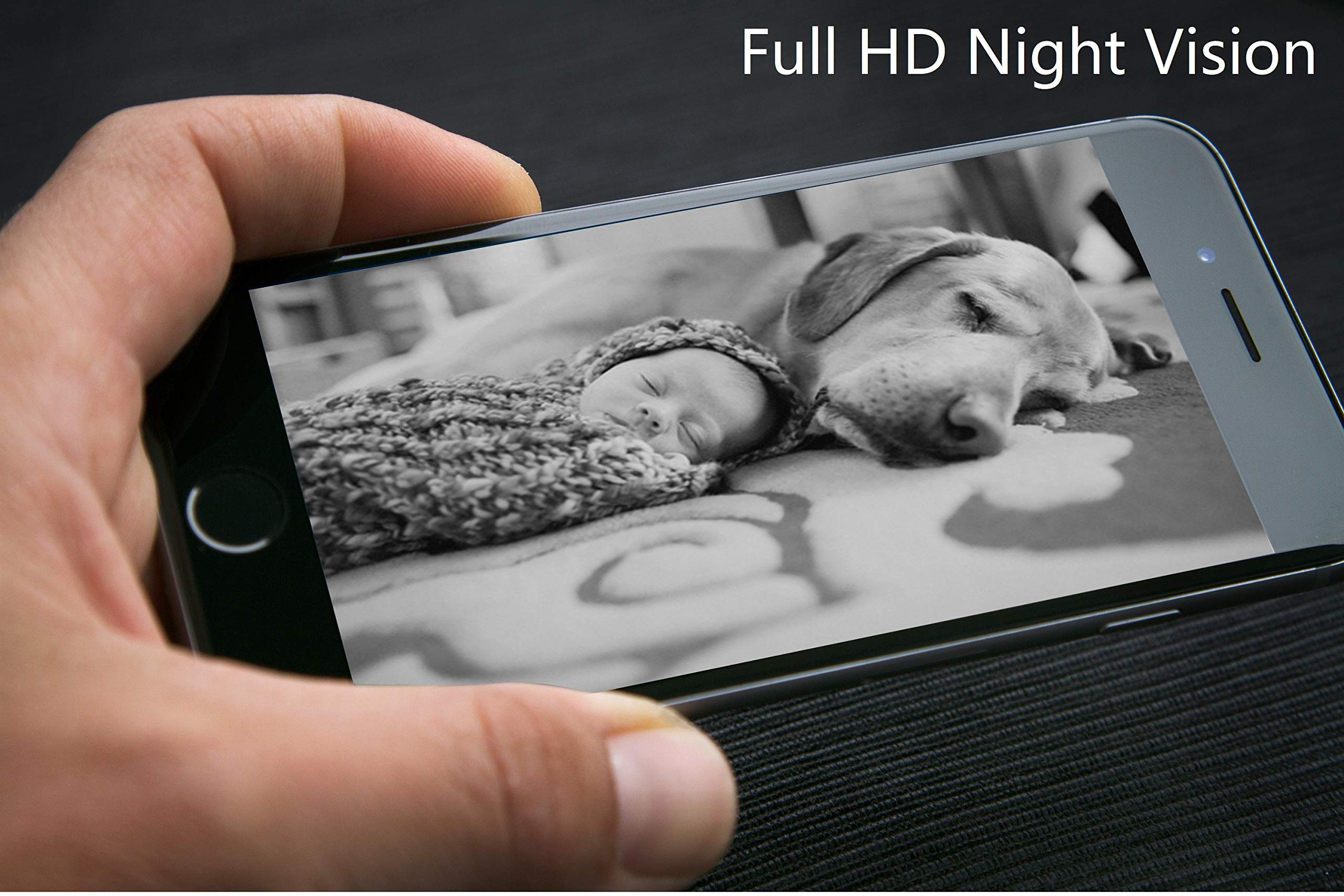 DOGNESS Dog Camera Treat Dispenser,HD Video WiFi Pet Camera with 2-Way Audio and Night Vision,Monitor Your Dogs and Cats by DOGNESS (Image #5)