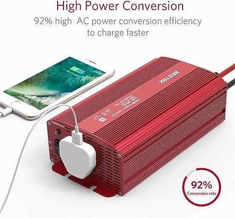 Bestek 1000 W Power Inverter 1000w Auto