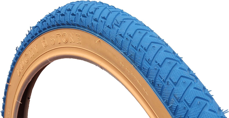 CURIO EU BLUE w//GUMWALL BMX REIFEN REIFEN 20 X 2.125 LS214 RAMPE STREET GEWINDE