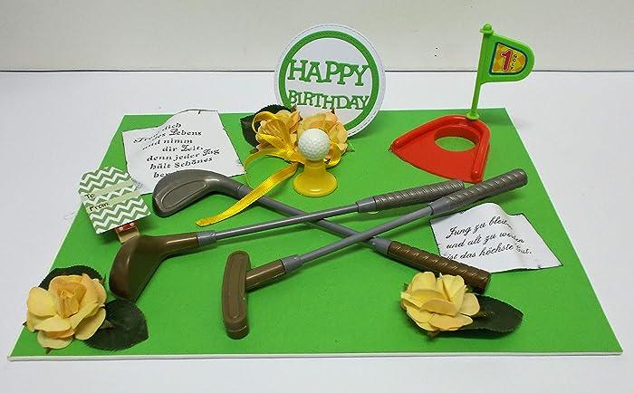 Geldgeschenk Geburtstag Golf Geburtstagsgeschenk Amazon De Handmade