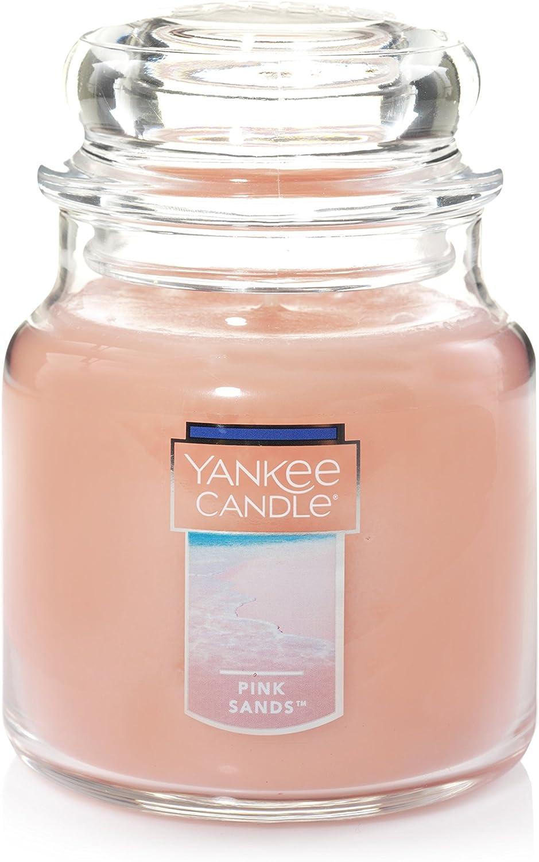 Yankee Candle Medium Jar Candle, Pink Sands
