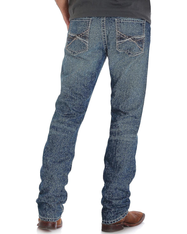 MRS47MN Rock 47 by Wrangler Men/'s Slim Fit Straight Leg Jean NEW