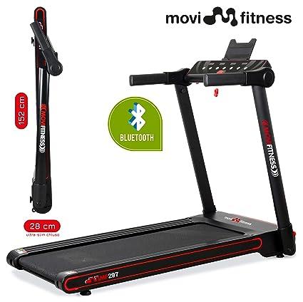Movi Fitness - Cinta de Correr Profesional MF297, Plegable para ...
