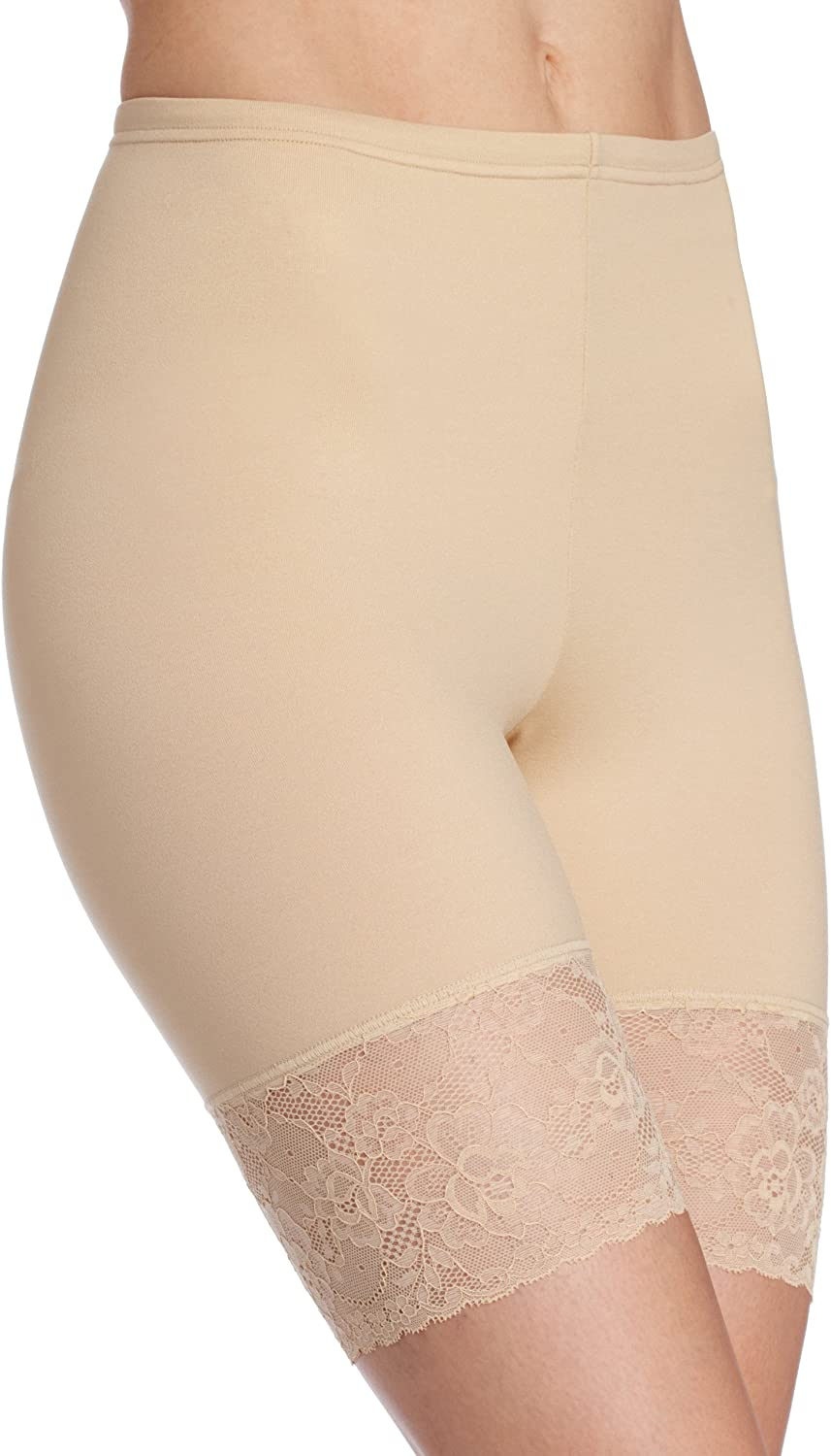flexees by maidenform womens fat free dressing thigh slimmer