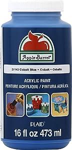 Apple Barrel Acrylic Paint in Assorted Colors (16 Ounce), 21142 Cobalt Blue