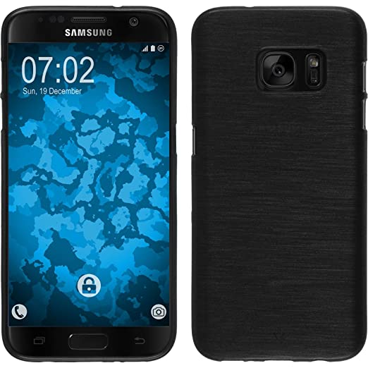 40 opinioni per PhoneNatic Custodia Samsung Galaxy S7 Cover argento brushed Galaxy S7 in