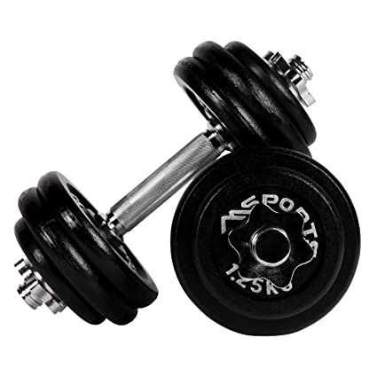 Juego de pesas cortas Professional Hierro Fundido 30 kg (2 x 15 kg) Pesas