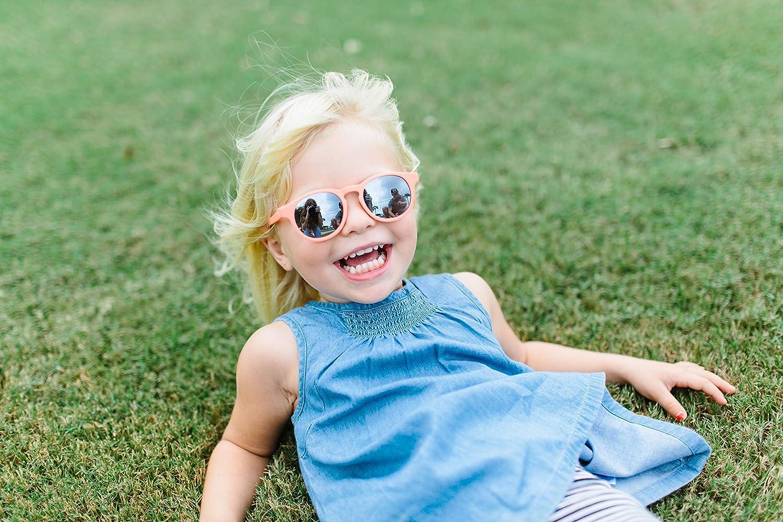 Pink The Weekender Babiators Polarisierte UV-Sonnenbrille f/ür Kinder