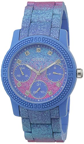 e9f91936a5f2 Guess Multi-function Blue Dial Women s Watches - W0944L2  Amazon.co.uk   Watches