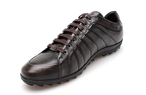 Versace Collection - Zapatillas de running para hombre Marrón marrón: Amazon.es: Zapatos y complementos