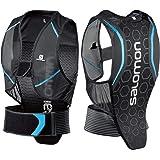 Salomon Herren Flexcell Men Ski-Rückenprotektor, Verstellbar, MotionFit-Technologie, Atmungsaktives Mesh-Material, schwarz/blau, L39139100