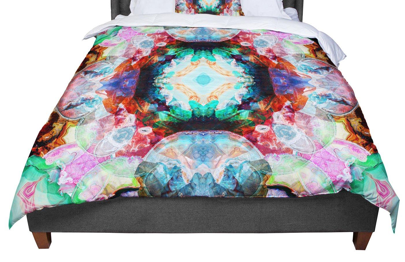 68 X 88 KESS InHouse Danii Pollehn Achat II Multicolor Twin Comforter