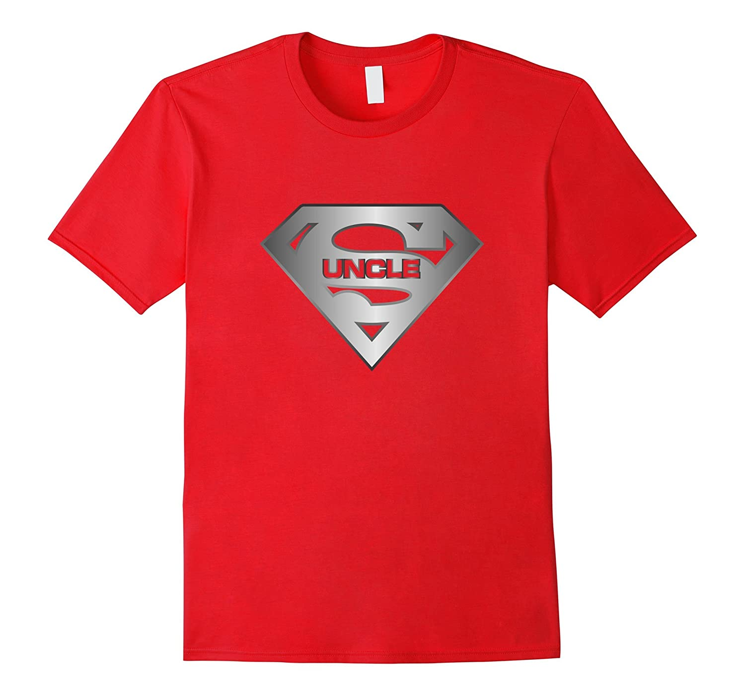 Mens Super Uncle T-Shirt is the Best Tee Shirt From Niece Nephew-TD