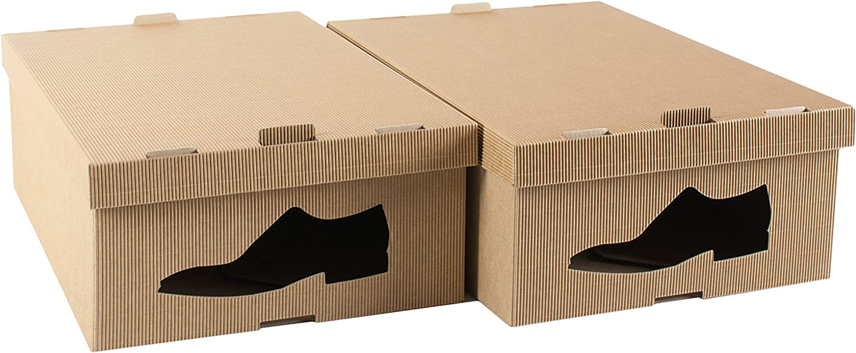 STYLE4HOME - Juego de 2 Cajas de Almacenamiento de Cartón para ...