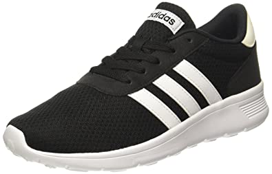 meet f5c60 45304 adidas Mens Lite Racer Running Shoes, (Core Black Footwear White), 6 UK
