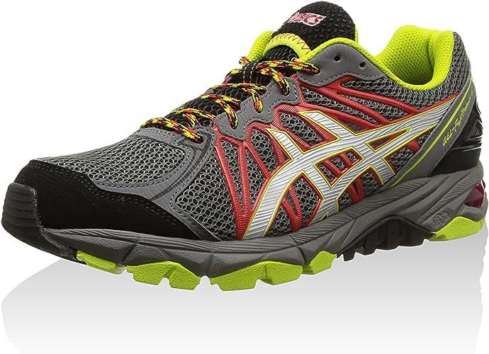 ASICS Gel-Fujitrabuco 3 - Zapatillas De Correr En Montaña para Hombre, Color Grau (9793-titanium/silver/lime), Talla 41.5: Amazon.es: Zapatos y complementos