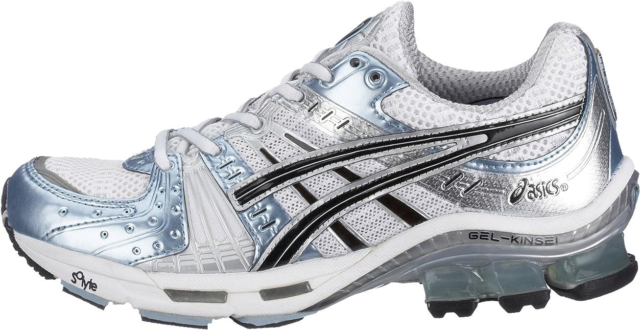 Asics Gel Kinsei tn659 – 0190 – Zapatillas de Running para Mujer, Color Blanco (White/Black/Ice Blue o190), Color Blanco, Talla 39 UE: Amazon.es: Zapatos y complementos