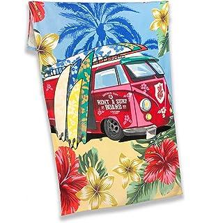 tex family Toalla Playa fotográfico de esponja tamaño grande cm.86 x 160 Rent A