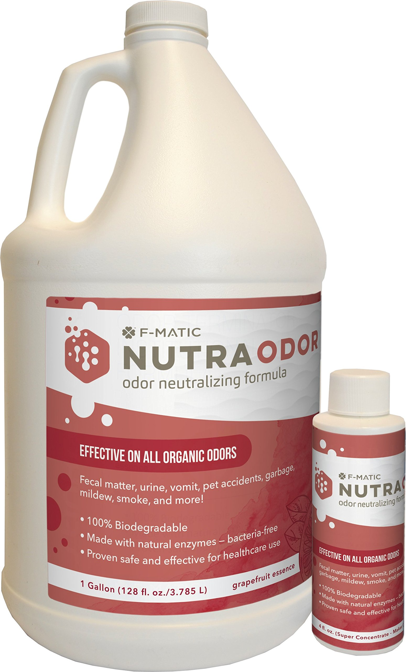 F-Matic Nutra Odor - Odor Neutralizing Formul, 4 oz Bottle