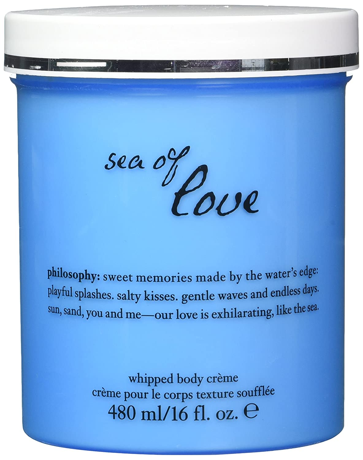 Philosophy Sea Of Love Whipped Body Creme for Women, 16.0 fl. Oz.