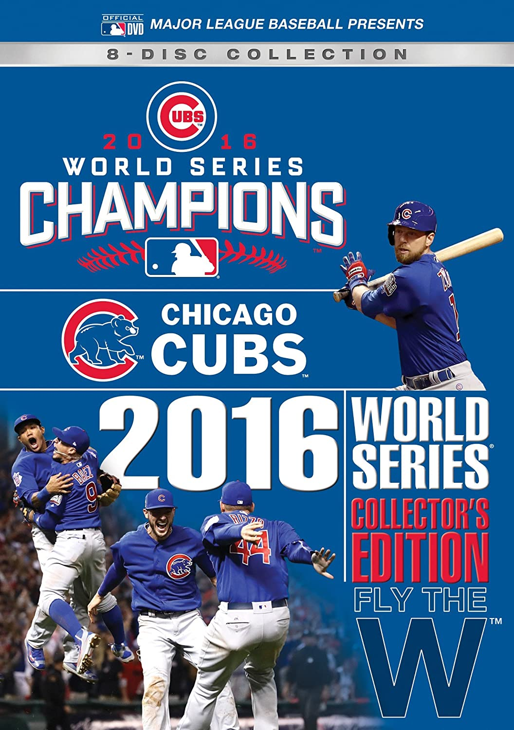 20e3bd3c22c Amazon.com  Chicago Cubs 2016 World Series Collector s Edition  Various   Movies   TV