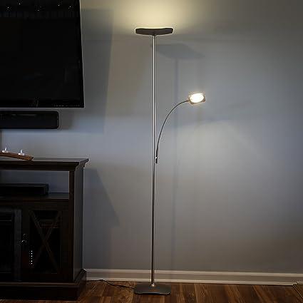 Amazon.com: Brightech SKY Plus - Lámpara de pie LED con ...