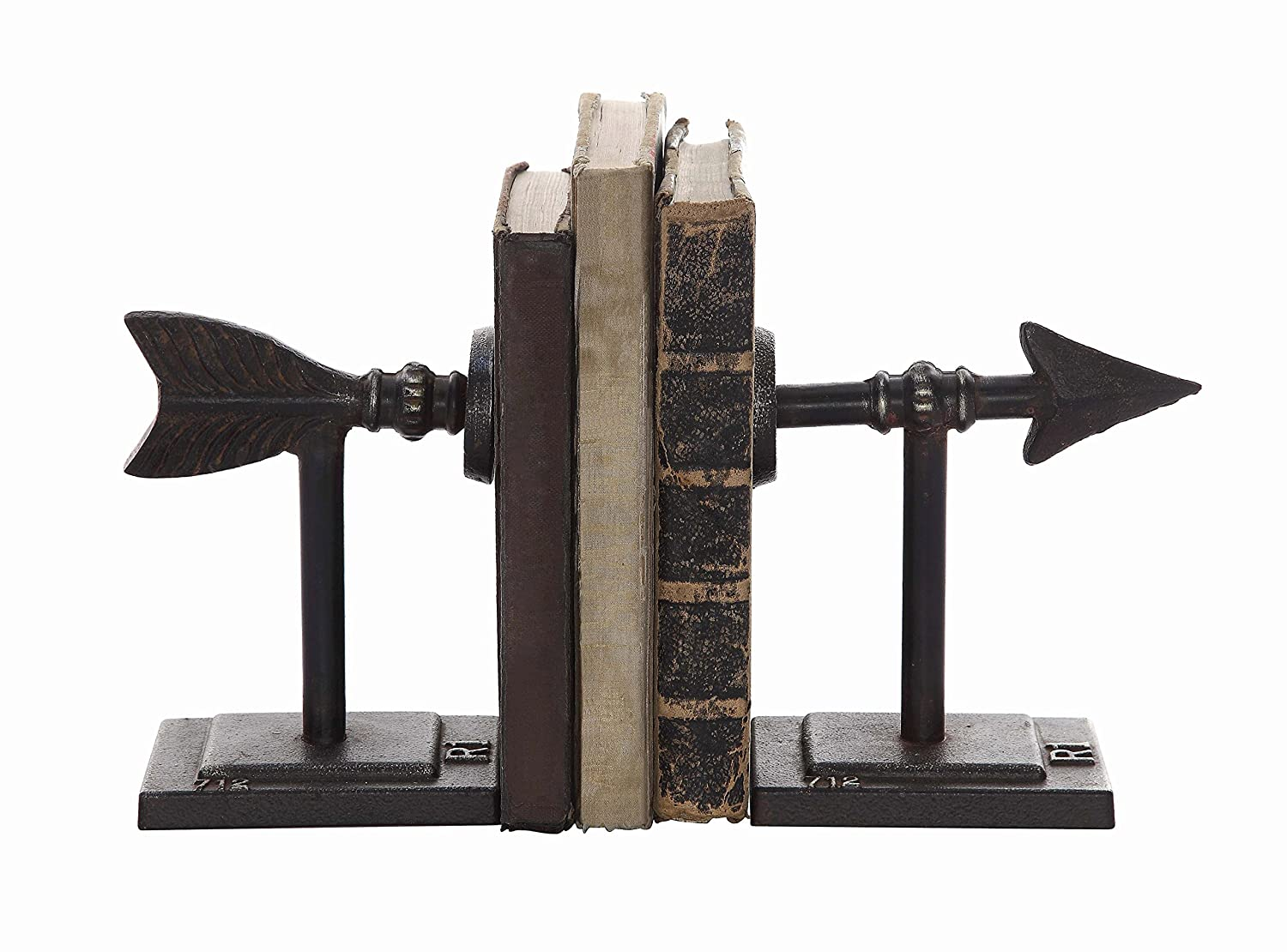 Creative Co-op Metal Arrow Bookend Set DA4199