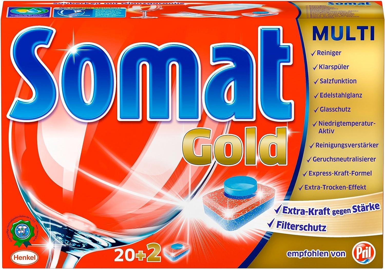Somat Gold - Pastillas para lavavajillas: Amazon.es: Salud y ...