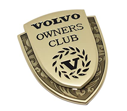 Incognito 7 3d Laxury Volvo Owners Club Logo Volvo Shield