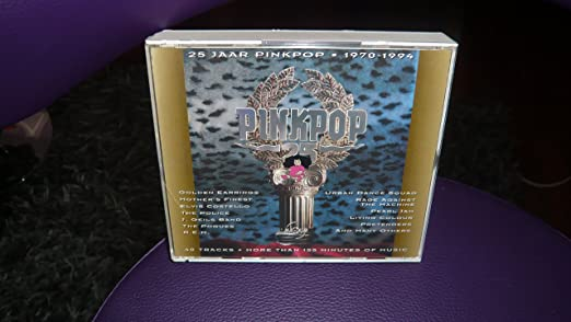 cd 40 jaar pinkpop Fleetwood Mac, Thin Lizzy, J. Geils Band, Golden Earrings, Pearl  cd 40 jaar pinkpop