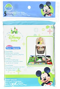 Neat Solutions Mickey Mouse Disposable Floor Topper - 5 count