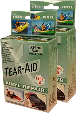 Tear-Aid Repair Type B Vinyl Kit at amazon