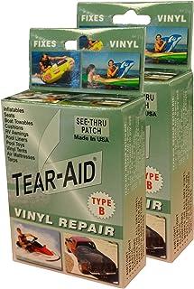Tear-Aid Repair Type B Vinyl Kit  sc 1 st  Amazon.com & Amazon.com: Tear-Aid Repairs Patch Roll Kit for Type A Fabrics ...