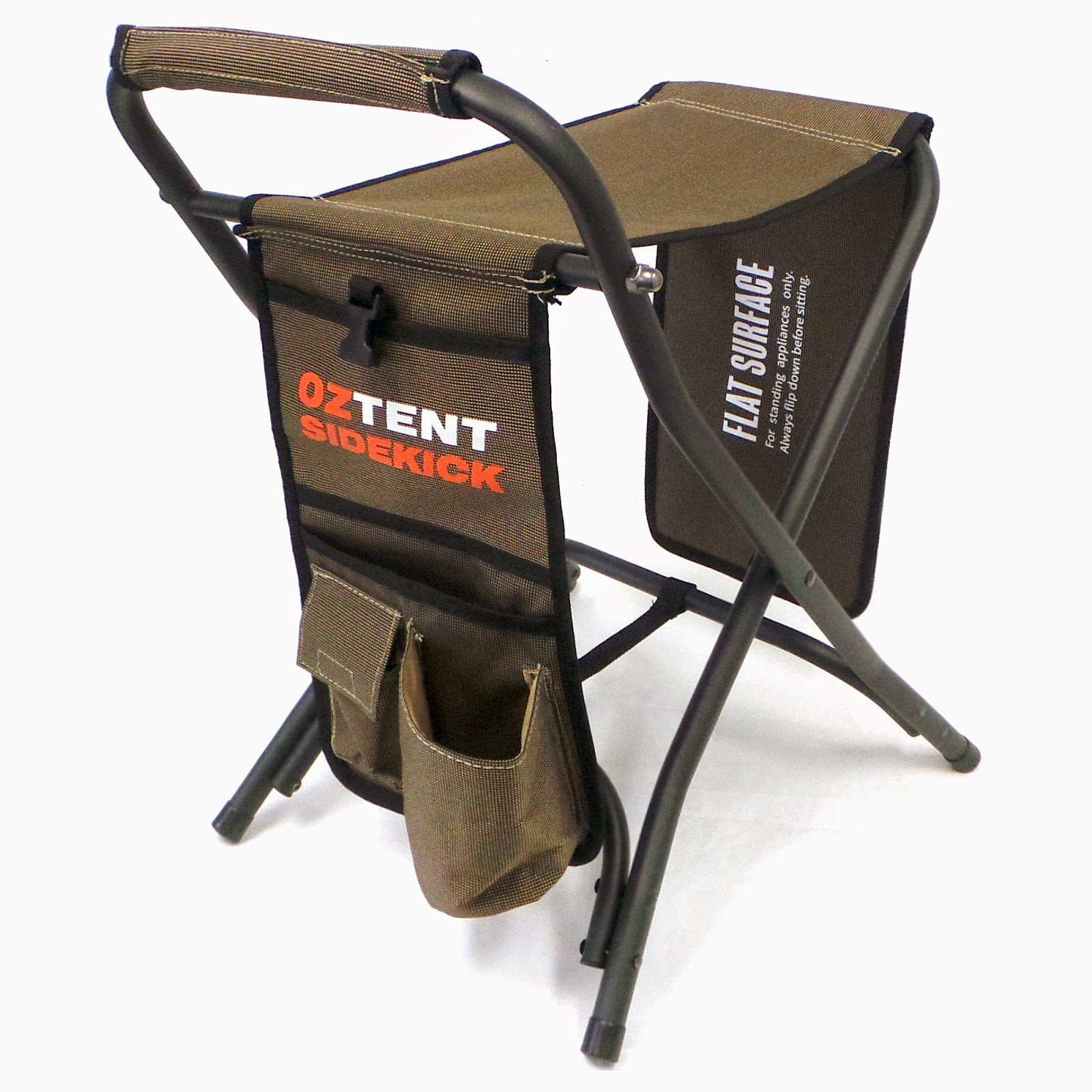OzTent Multi Use Lightweight Backpacking Foot Rest Camping Chair Stool by OzTent