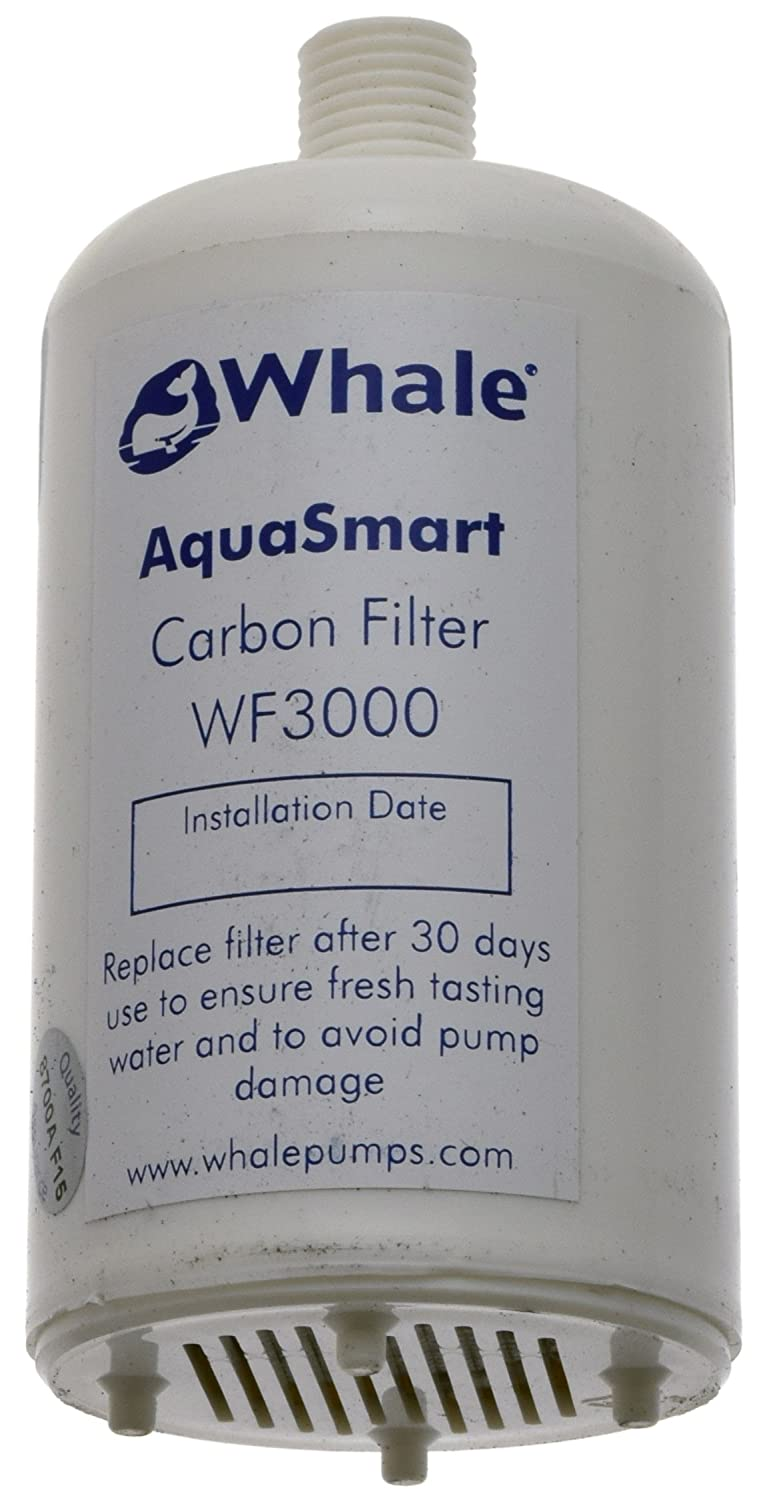 Whale WF3000 Aqua Smart Aqua Smart Carbon Water Filter, White