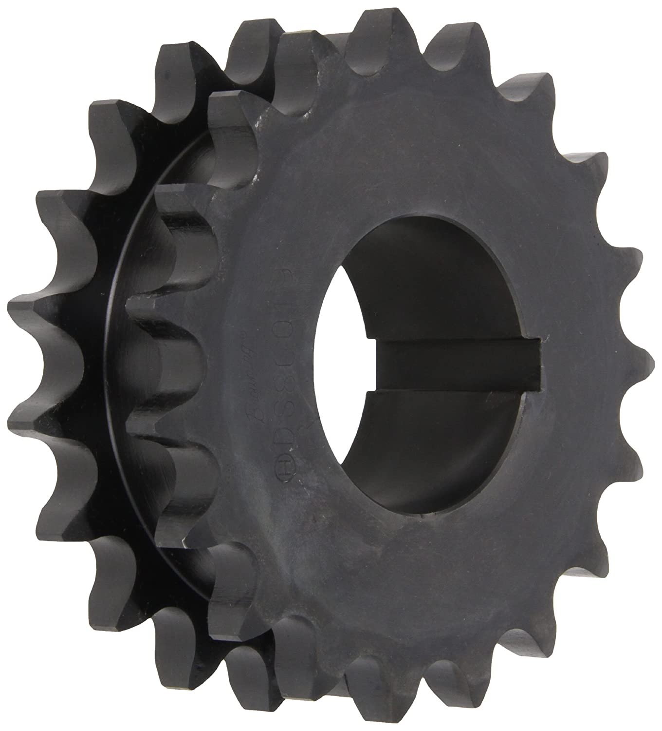 Browning DS80Q19 Roller Chain Sprockets, Split Taper, Bushed, Steel, 2 Strand, 80 Pitch, 19 Teeth Emerson