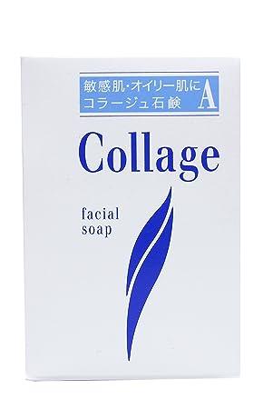 amazon コラージュ a脂性肌用石鹸 100g コラージュ 洗顔せっけん 通販