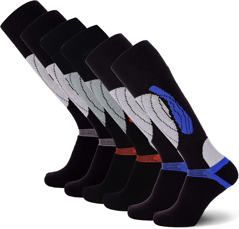 Warm Comfortable Snowboard//Skiing Socks Pure Athlete Elite Wool Race Ski Socks
