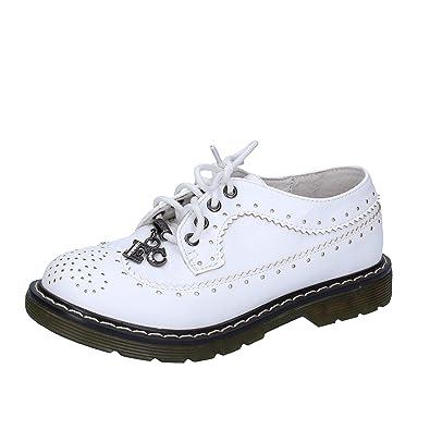 Chaussures Élégantes Enrico Coveri En Cuir Blanc Fille Ag251 (31 Eu) uRvP3G9xv