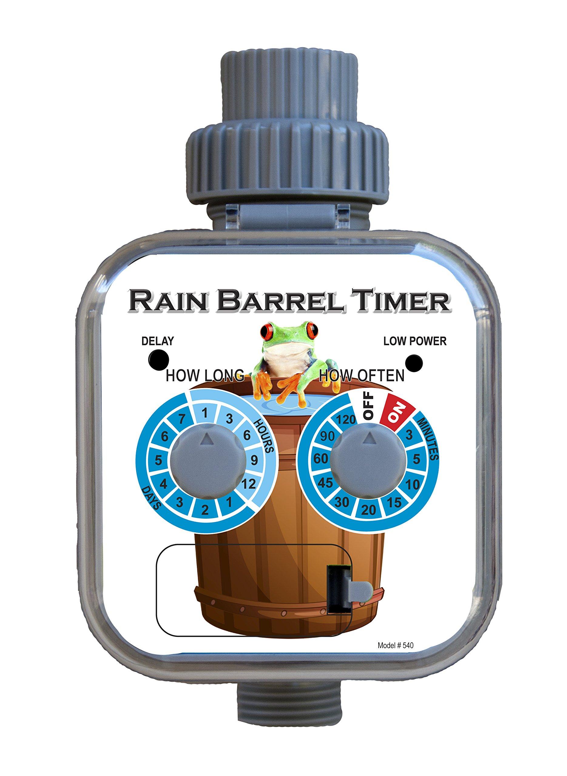 #193T Rain Barrel Soaker Hose Kit w/ #540 Rain Barrel Timer by Mr. Soaker Hose