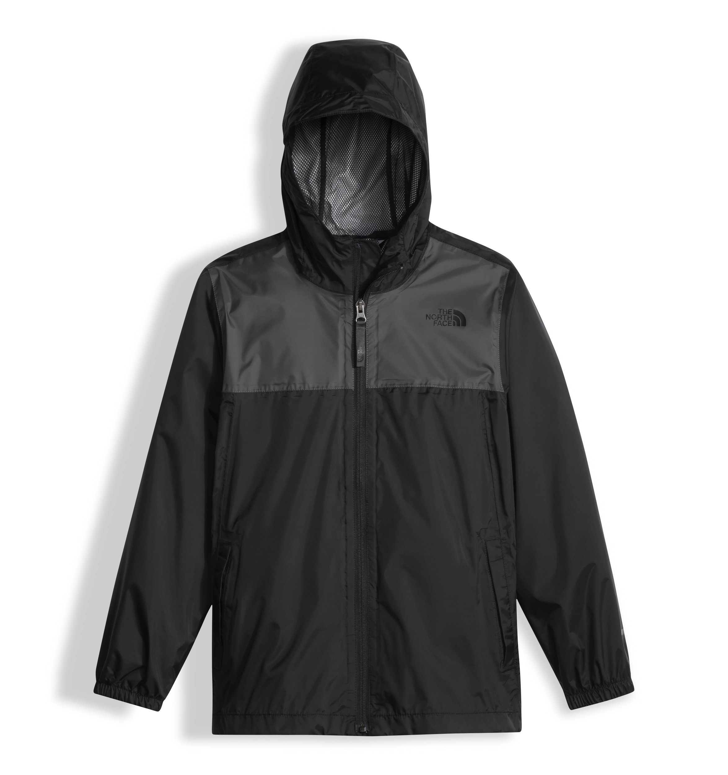 The North Face Kids Boy's Zipline Rain Jacket (Little Kids/Big Kids) TNF Black Medium