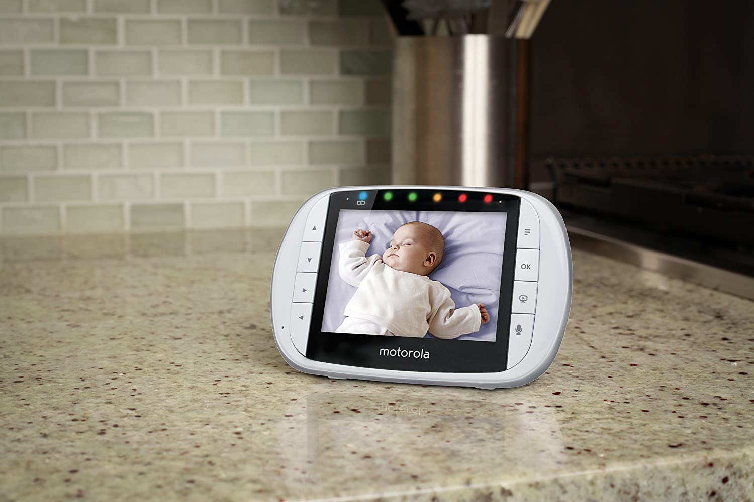 motorola 3 5 video baby monitor. motorola mbp36s wireless video baby monitor with 3.5 inch color lcd screen: amazon.ca: 3 5 m