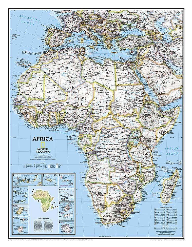 **afrique politique61 cm X 79 cm