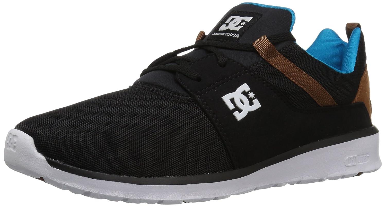 DC Men's Heathrow Casual Skate Shoe B071D8YTCH 12.5D D US|Black/Turquoise/White